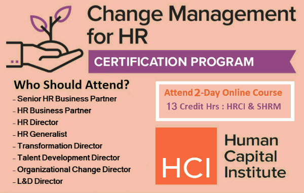 """How """"Change Management"""" Makes ALL the Difference ~ CMHR"""